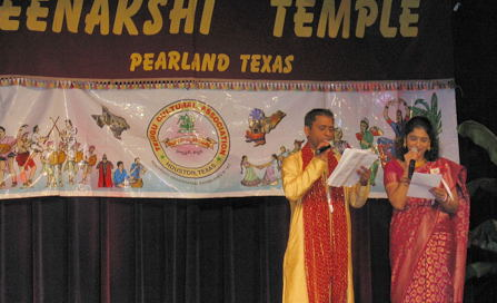 Ugadi at Meenakshi Temple, Houston