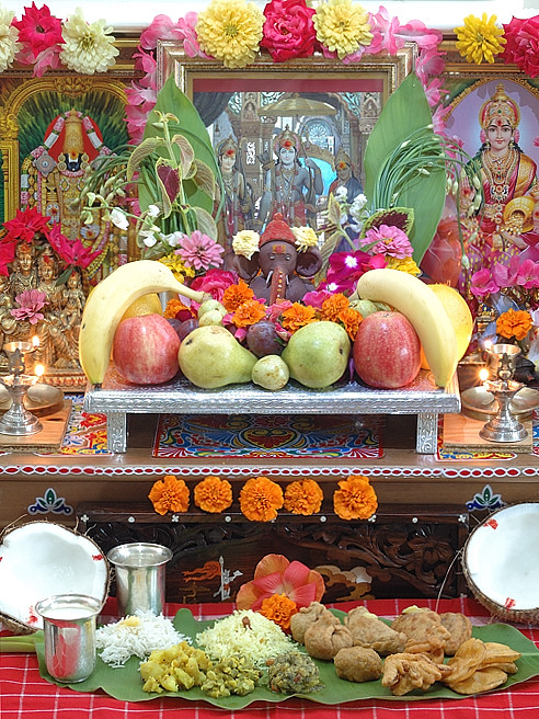 Vinayaka Chavithi 2010 Celebrations at My Home