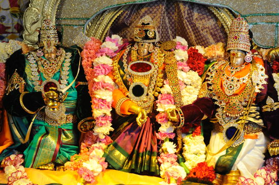 Dasara Celebrations at the Meenakshi Temple, Pear Land, TX