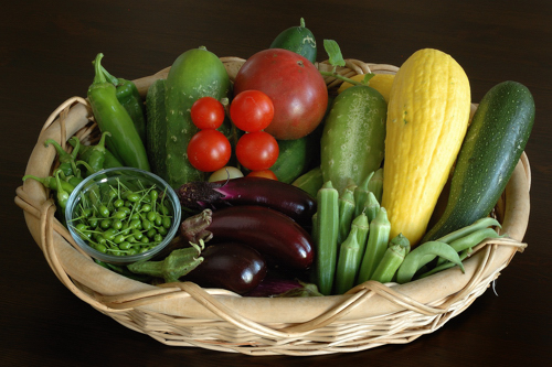 Vegetable Harvest for May 4th week