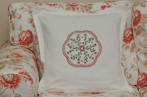 Mandala Cross Stitch for Sofa Pillow Cover