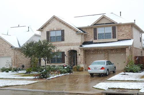 Snow Day in Houston
