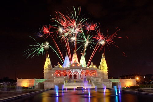 Deepavali Celebrations at Shri Swaminarayan Mandir, Houston