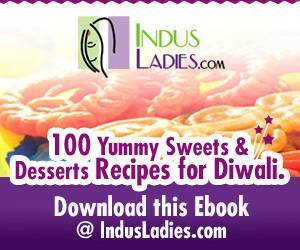Indus Ladies Diwali Desserts E-Book