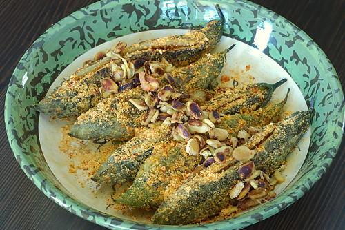 Stuffed Karela (Kakarakaaya) with Crisp and Crunchy Karela Seeds ~ Meal Today