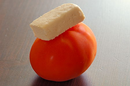 Paneer and Tomato
