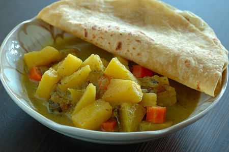 Udipi Pineapple Curry