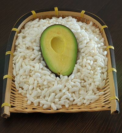 Avocado and Puffed Rice