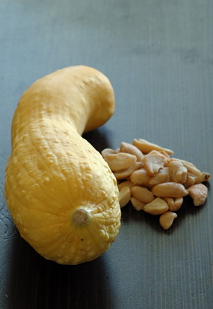 Yellow Zucchini and Cashews
